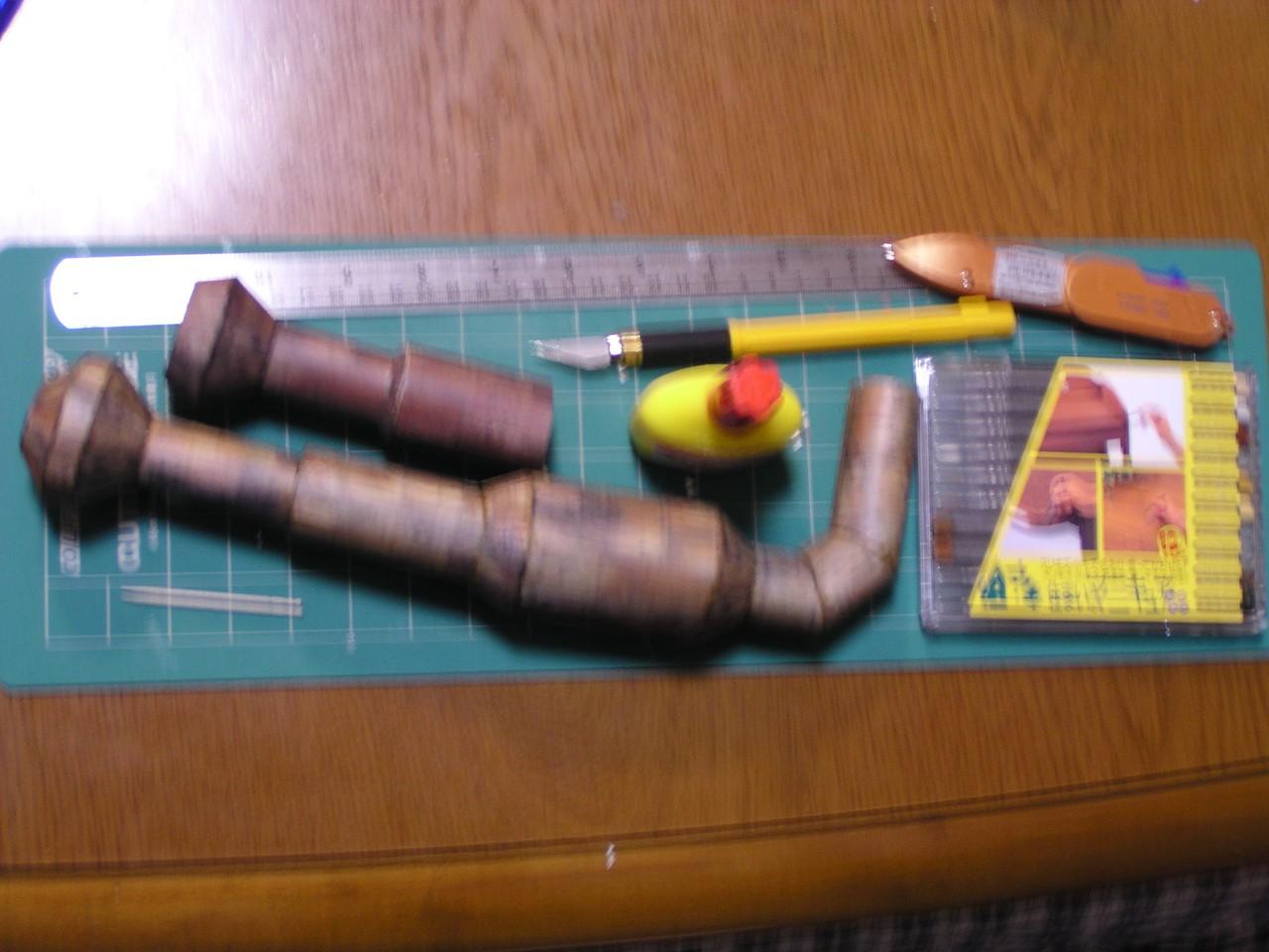 ペーパークラフトの道具