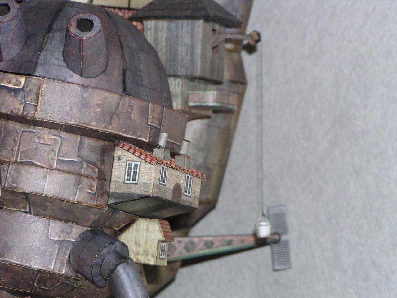 ハウルの動く城ペーパークラフトBOOK